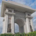 Arch of Triumph. Ooooh.