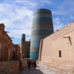 The problem with Khiva is all those pesky tourists