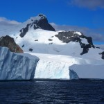 We set off in our zodiac to hunt down some icebergs...