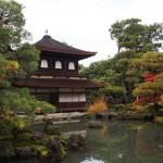 Reflecting Ginka-kuji. I feel a haiku coming on