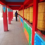 DJ Lucy on the prayer wheels of steel