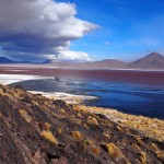 Laguna Colorada. You know, with scenery and camera this good, James and I look like we take ok photos!