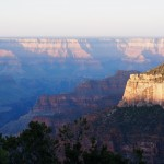 Grand Canyon at sunrise. What you can't see is us shivering!!