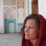This one is actually a modern, functioning mosque hence the headscarf (plus some seriously bad hair!!)