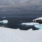 And now for some dark and moody shots of icebergs!