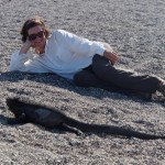 That's the problem in the Galapagos - getting near to the animals