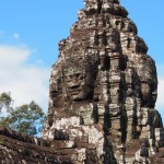 Spooky Bagan Buddha heads