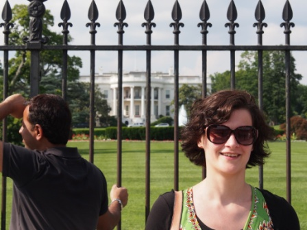 Auntie Lucy at the White House