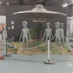 Alien encounter. But which one is the alien?!