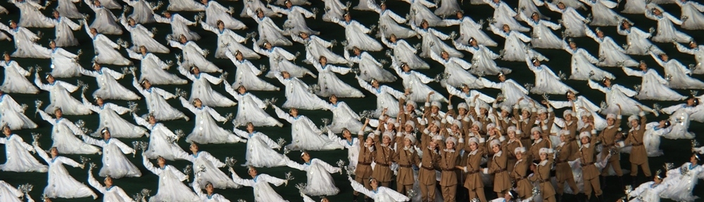 Spontaneous outpouring of joy by the Korean Army Ladies' Winter Division